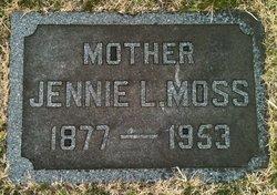 Jennie Louise <I>Daniels</I> Moss