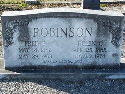 Fred Ernest Robinson