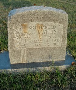 Sgt Harold R. Mathis