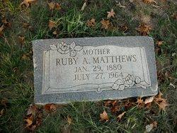 Ruby A. Matthews