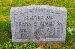 Frank W Adams Sr.