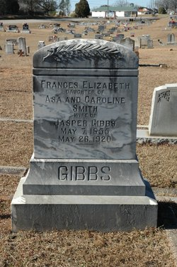 Frances Elizabeth <I>Smith</I> Gibbs