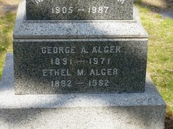 George A Alger