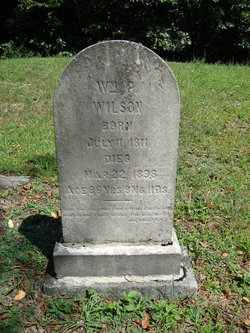 70928f2d78 William Painter Wilson (1811-1898) - Find A Grave Memorial