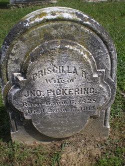 Priscilla <I>Reynolds</I> Pickering