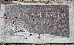 Priscilla Helen <I>Brooks</I> Bantau
