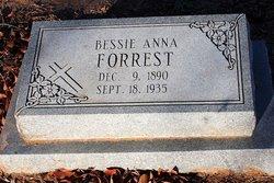 Bessie Anna <I>Van Horn</I> Forrest