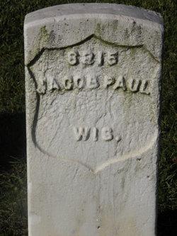 Pvt Jacob Paul