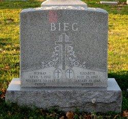 Elizabeth <I>Preiss</I> Bieg