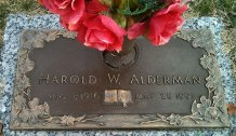 Harold Woodrow Alderman
