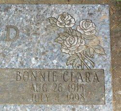 Bonnie Clara <I>Burdick</I> Ikerd