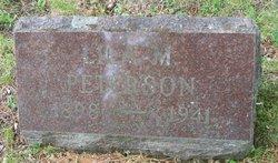 Lila M. <I>Lundin</I> Peterson