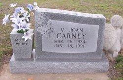 V Joan Carney