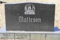 Harlow Gifford Matteson