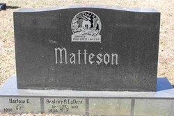 Beatrice A <I>LaVere</I> Matteson
