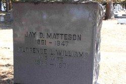 Florence L <I>Williams</I> Matteson