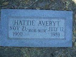 Hattie Hathaway <I>Lauraine</I> Averyt