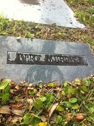 Bert Murphy