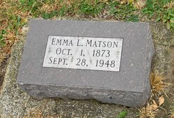 Emma Louise <I>Petit</I> Matson