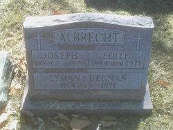 Edith <I>Warner</I> Albrecht