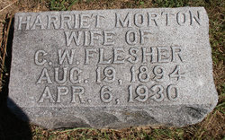 Harriet <I>Morton</I> Flesher