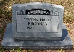 Rowena <I>Prince</I> Brodnax