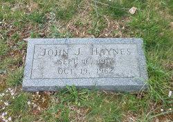 John J Haynes