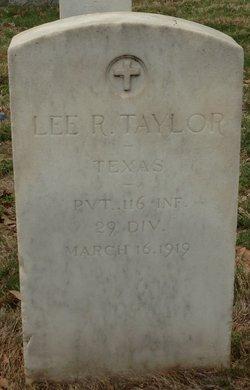 Lee R Taylor