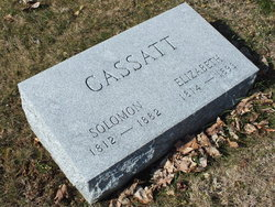 "Elizabeth ""Eliza"" <I>Essig</I> Cassatt"