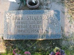 Baby Boy Stevens