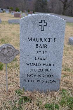 Maurice E Bair