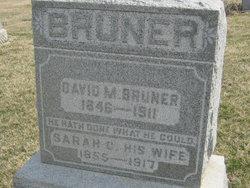Sarah Caroline <I>Calbreath</I> Bruner