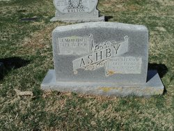 Mary Eleanor <I>Baylor</I> Ashby