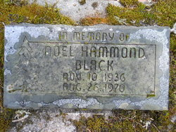Noel Hammond Black