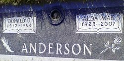 Alda Mae <I>Steiner</I> Anderson