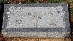 Elizabeth Peyton Fain