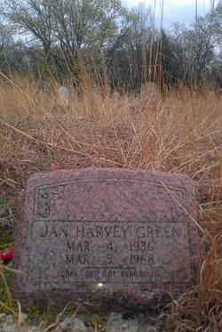 Jan Harvey Green
