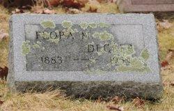 Flora May <I>Adams</I> Decker