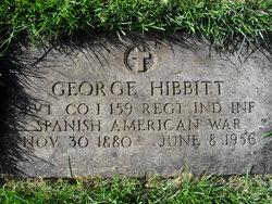 Pvt George Hibbitt