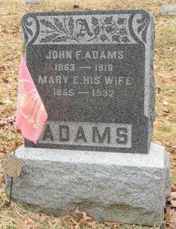 Mary E <I>Cameron</I> Adams