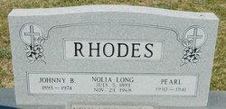 Nettie Nolia <I>Long</I> Rhodes
