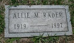 Allie <I>Vraneseich</I> Rader