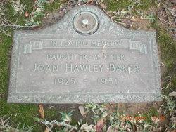 Joan <I>Hawley</I> Baker