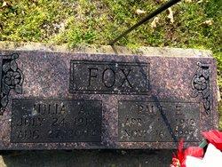 Julia Ann <I>McKinney</I> Fox