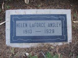 Helen C. <I>LaForce</I> Ansley