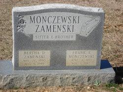 Bertha D. <I>Monczewski</I> Zamenski