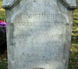 Elizabeth <I>Eckert</I> Granzinger