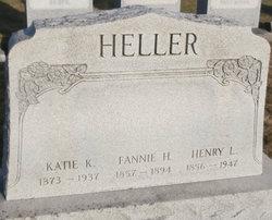 Fannie H <I>Rohrer</I> Heller