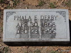 Phala Emma <I>Menefee</I> Derby