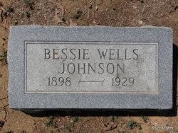 Bessie A <I>Wells</I> Johnson